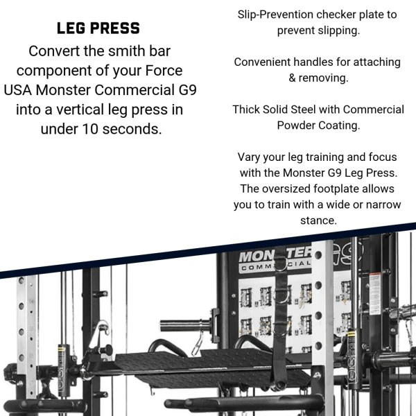force usa g9 all in one functional trainer