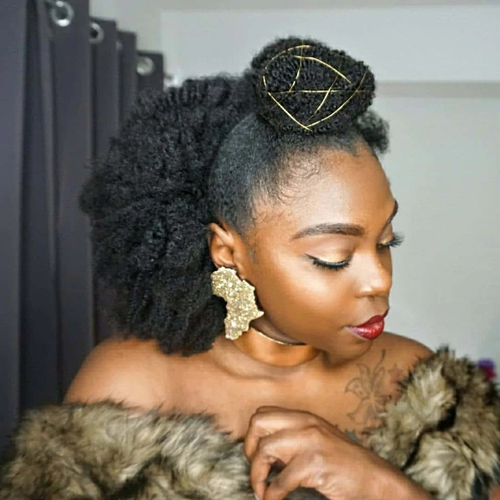 afro hair extensions 4c