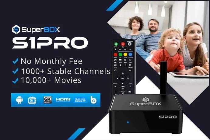 SuperBOX S1PRO – SuperBOX IPTV Mall