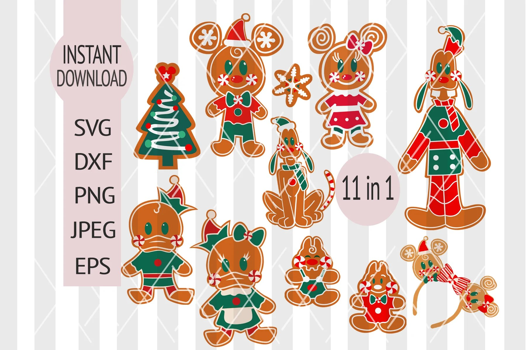 Compatible with silhouette, cricut and other cutting. Disney Christmas Svg Mickey Minnie Mouse Disneyland Castle Silho Main St Magic Shop