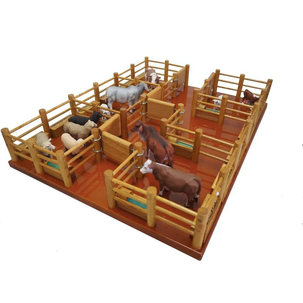 Cy7 Feedlot Handmade Wooden Toy Country Toys Australia