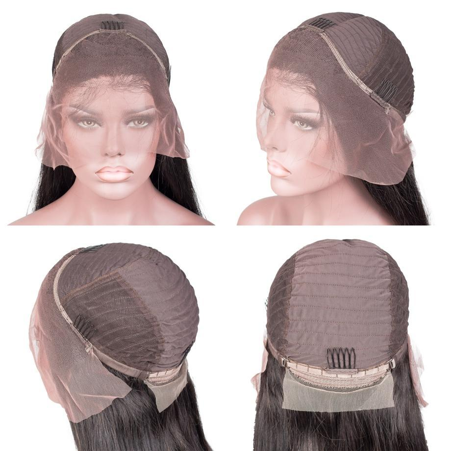 Lace Front Black Wig Natural African Wigs Real Hair Wigs For Older