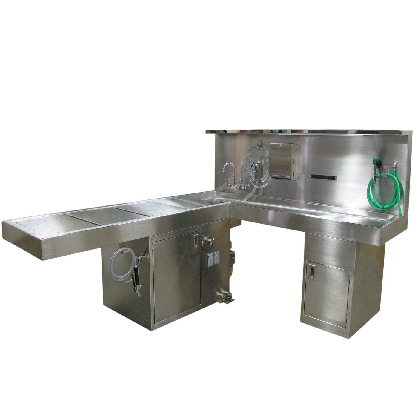 Propelled Hydraulic Necropsy Table Mortech - Year of Clean Water