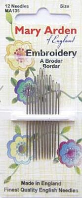 Hand Embroidery Needles : embroidery, needles, Embroidery, Needles, Sproule, Studios