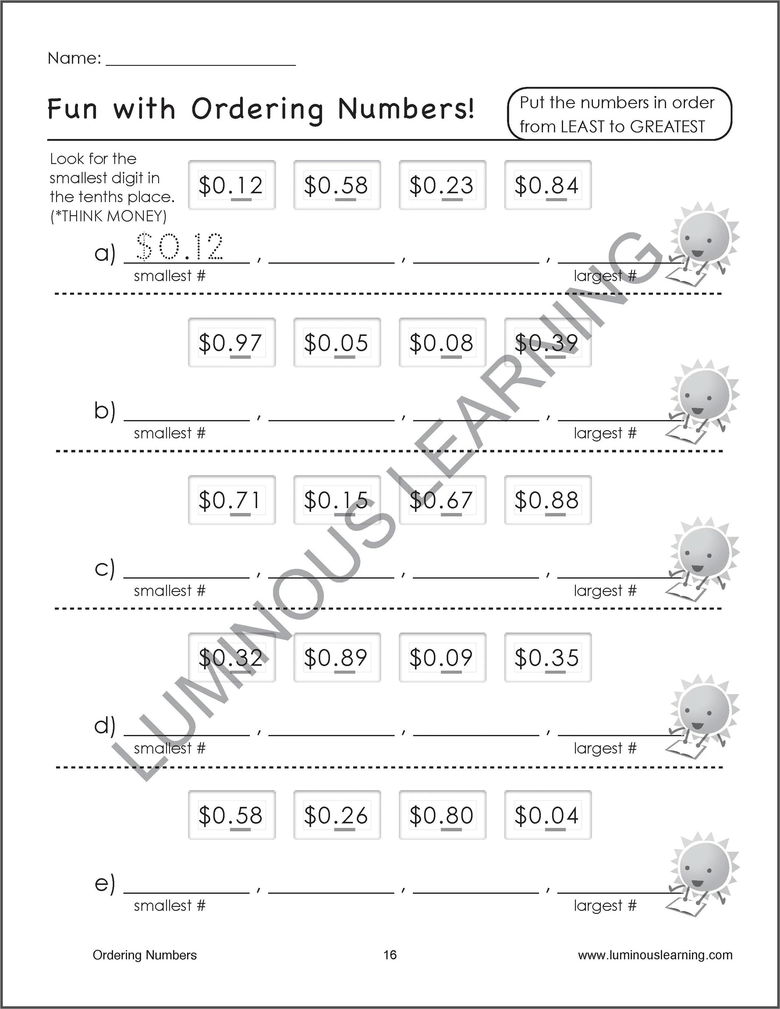 Number Sense \u0026 Place Value Worksheets - Special Ed - Grade 4 [ 3310 x 2560 Pixel ]