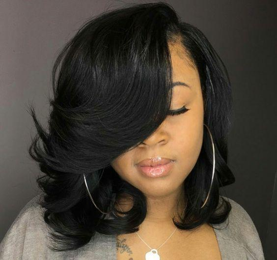 Lace Front Wigs Black Natural Color African American Short Curly