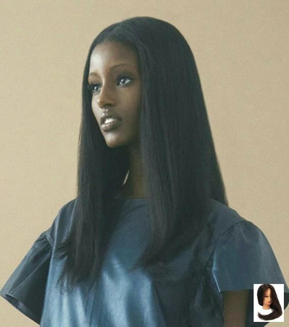 African American Natural Hair Wigs Black Wig Sites Black And White