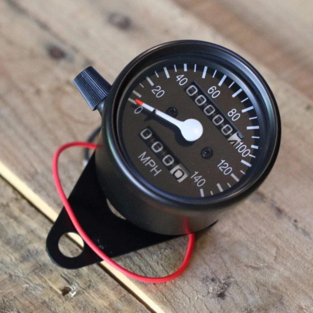 small resolution of black mini speedometer w odometer trip 1000 60 ratio cognito