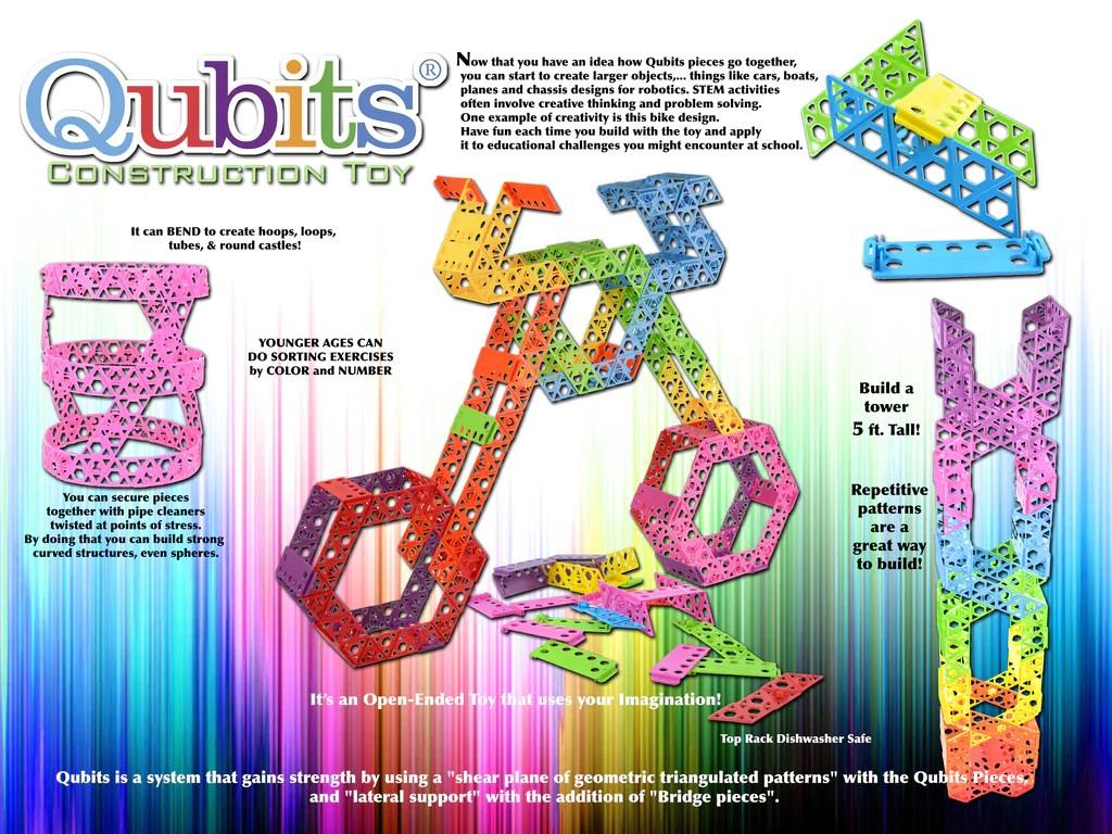 Qubits Toy Instructions