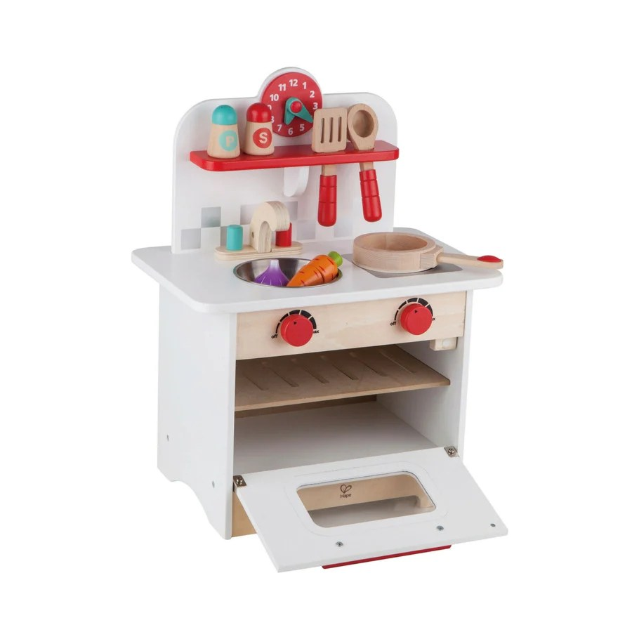 Hape Retro Wooden Kids Kitchen Kidzinc Australia Best