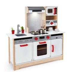 Wooden Kids Kitchen Renew Cabinets Hape All In 1 Kidzinc Australia Online Toys Educational Toy