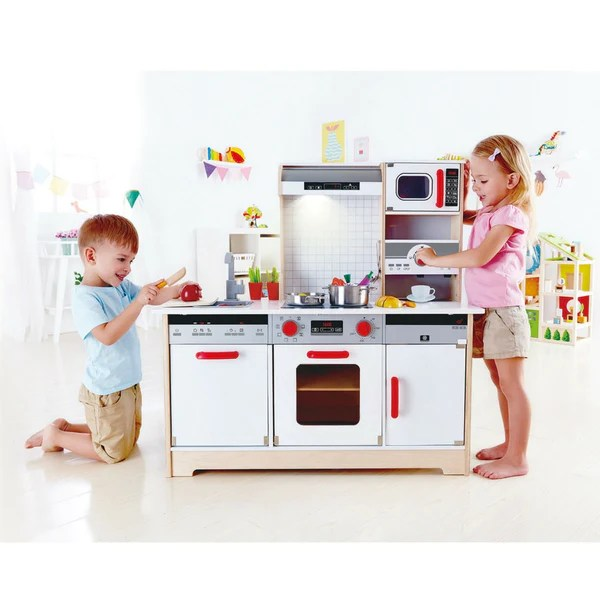 Hape All In 1 Wooden Kids Kitchen Kidzinc Australia