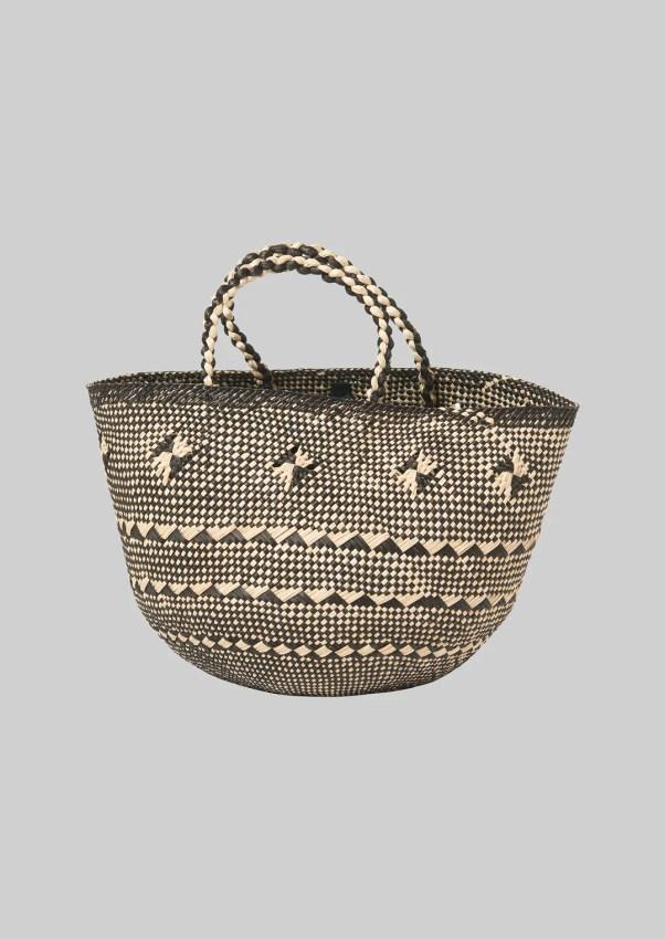 Toquilla Straw Basket TOAST