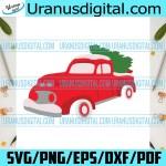 Christmas Tree Red Car Christmas Svg Car Svg Christmas Car Svg Chr Uranusdigital