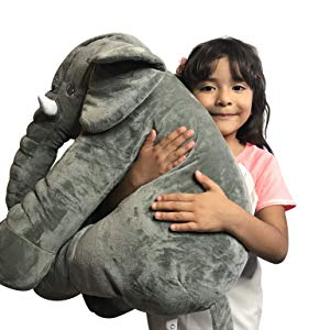 baby elephant pillow stuffed toy