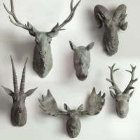 Animal Head Bust Wall Decor - Tudo and co  Tudo And Co
