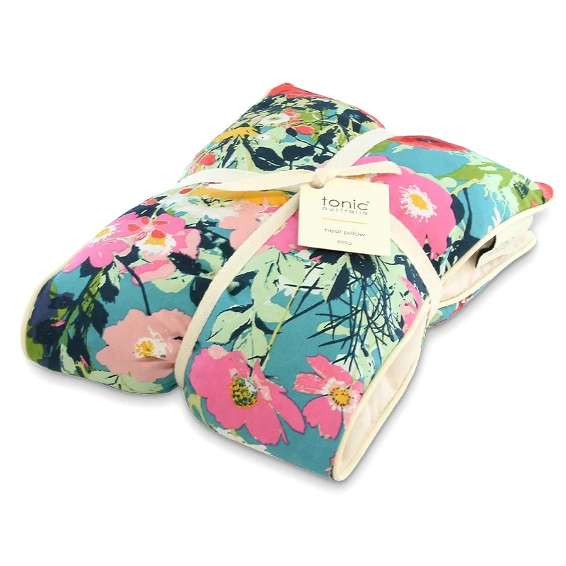 heat pillow filled with australian lavender and barley in dusk meadow by tonic australia