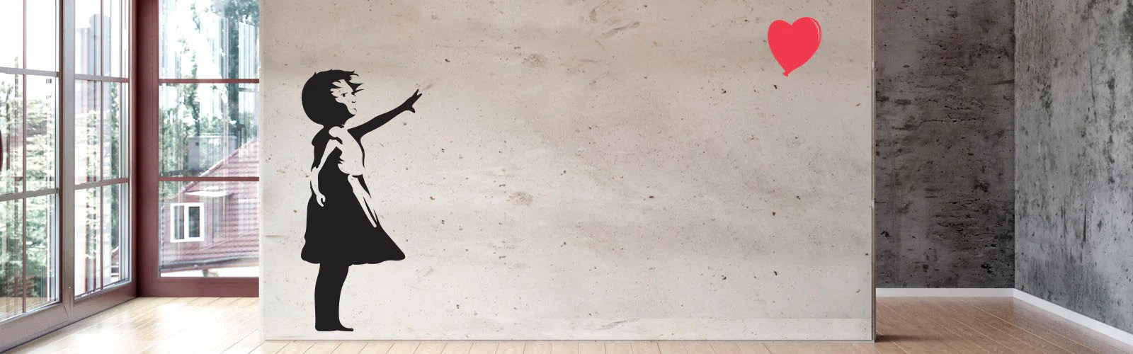 Banksy Vinyl Wall Decals  WallsNeedLove