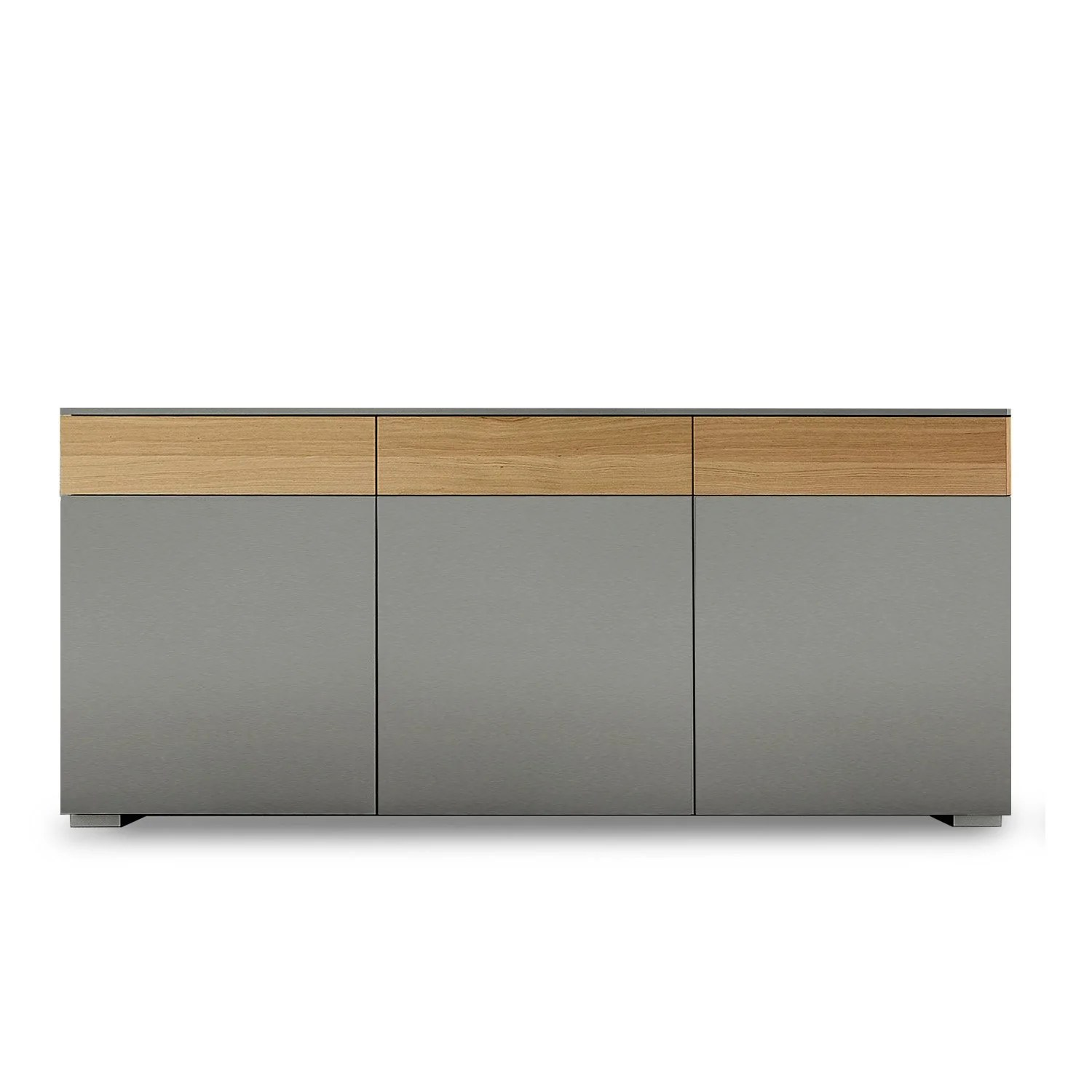 Sideboard Modern Slim 3 Door 3 Drawers Sideboard | Dall'agnese | Dining Room Furniture