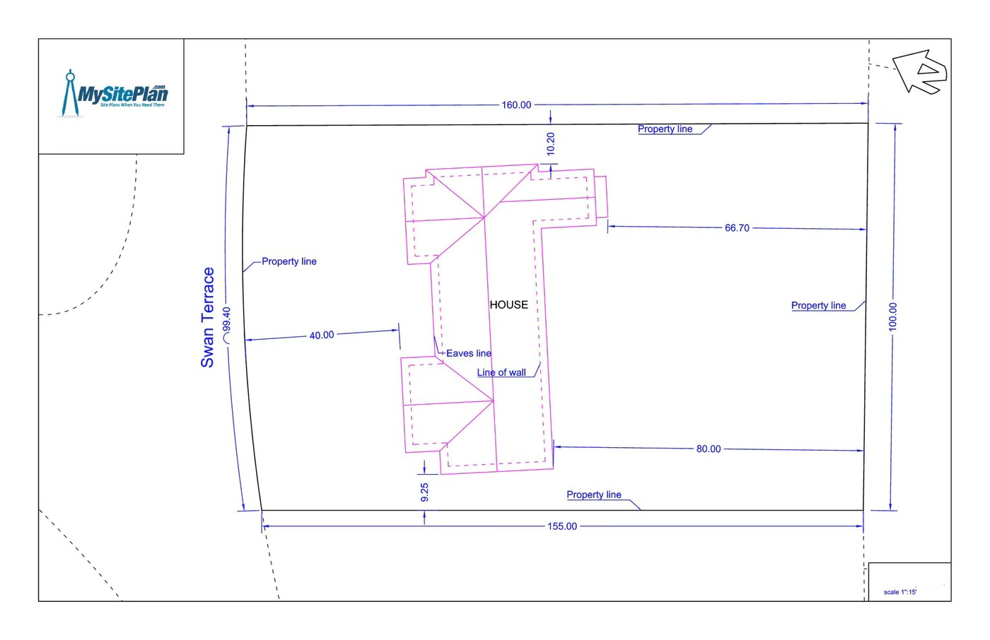 hight resolution of basic site plan