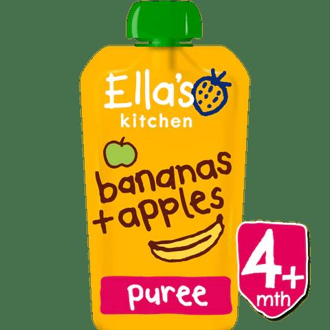 ellas kitchen baby food table and chairs cheap buy organic pureed apples bananas ella s