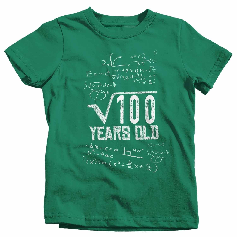 Kids Funny Birthday T Shirt Square Root Custom Birthday Shirt 40th Bir Shirts By Sarah