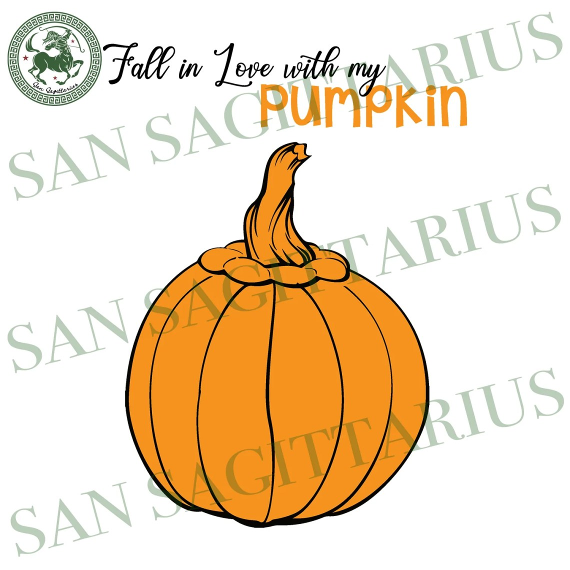 Download Fall In Love With My Pumpkin, Halloween Svg, Happy ...