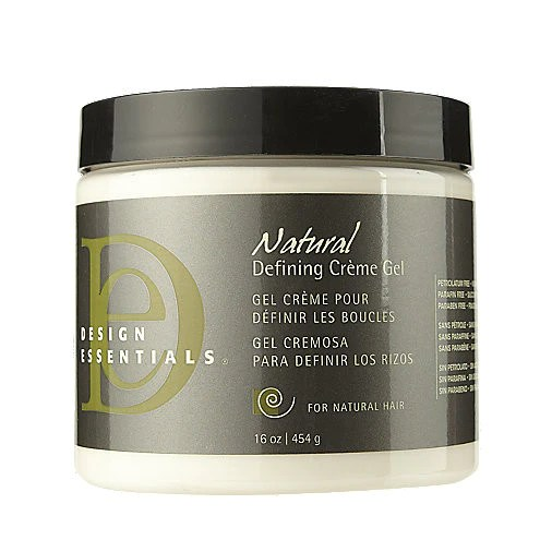 design essentials natural defining creme gel honey hair