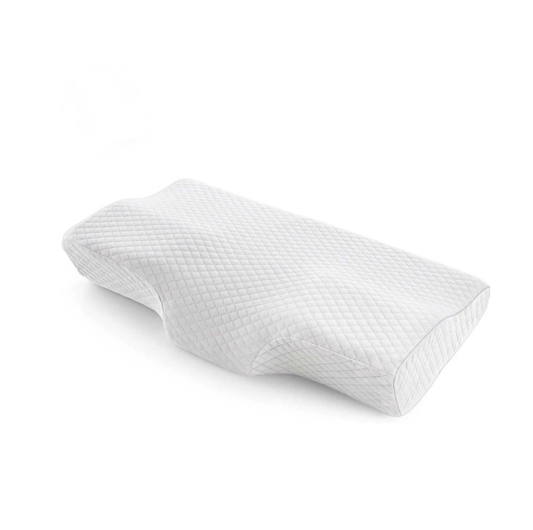 milemont memory foam pillow cervical pillow for neck pain orthopedic contour pillow support for back stomach side sleepers