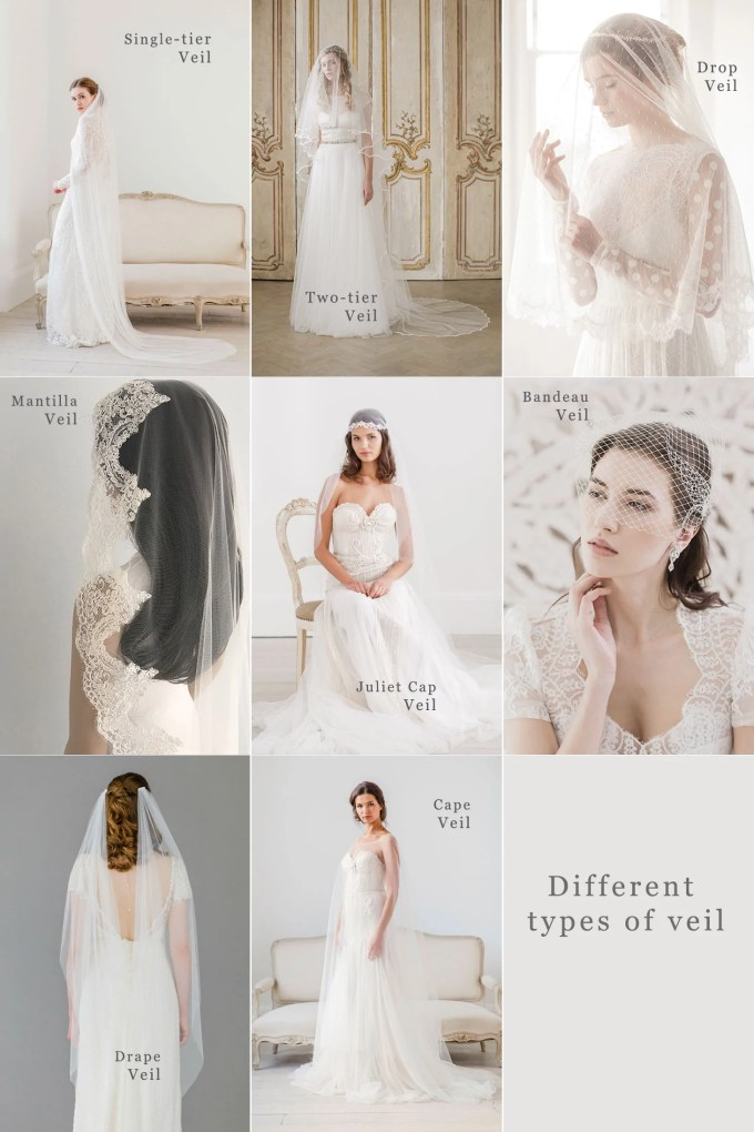 the britten guide to wedding veils   britten weddings