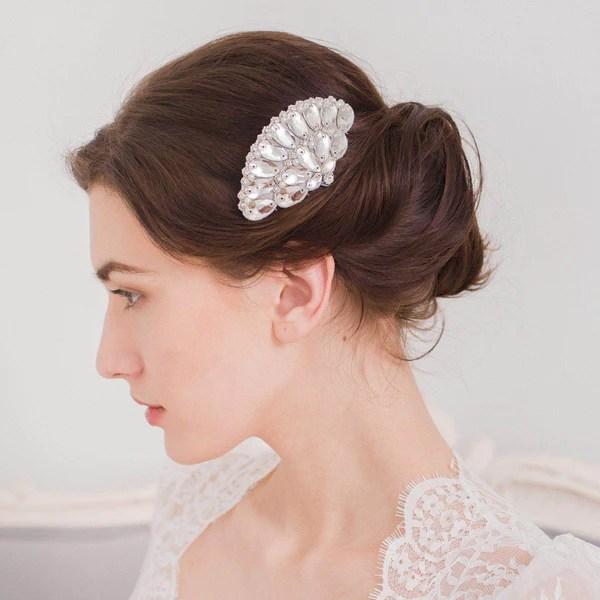 1920's wedding hair comb - 'iolanthe'