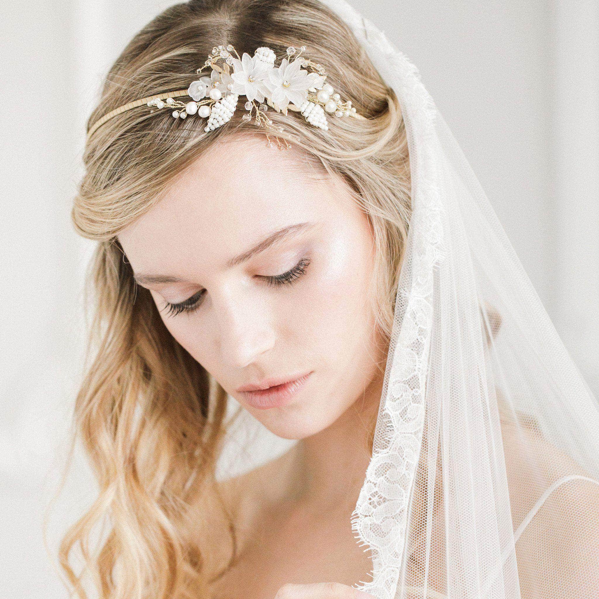 wedding headbands bridal hair