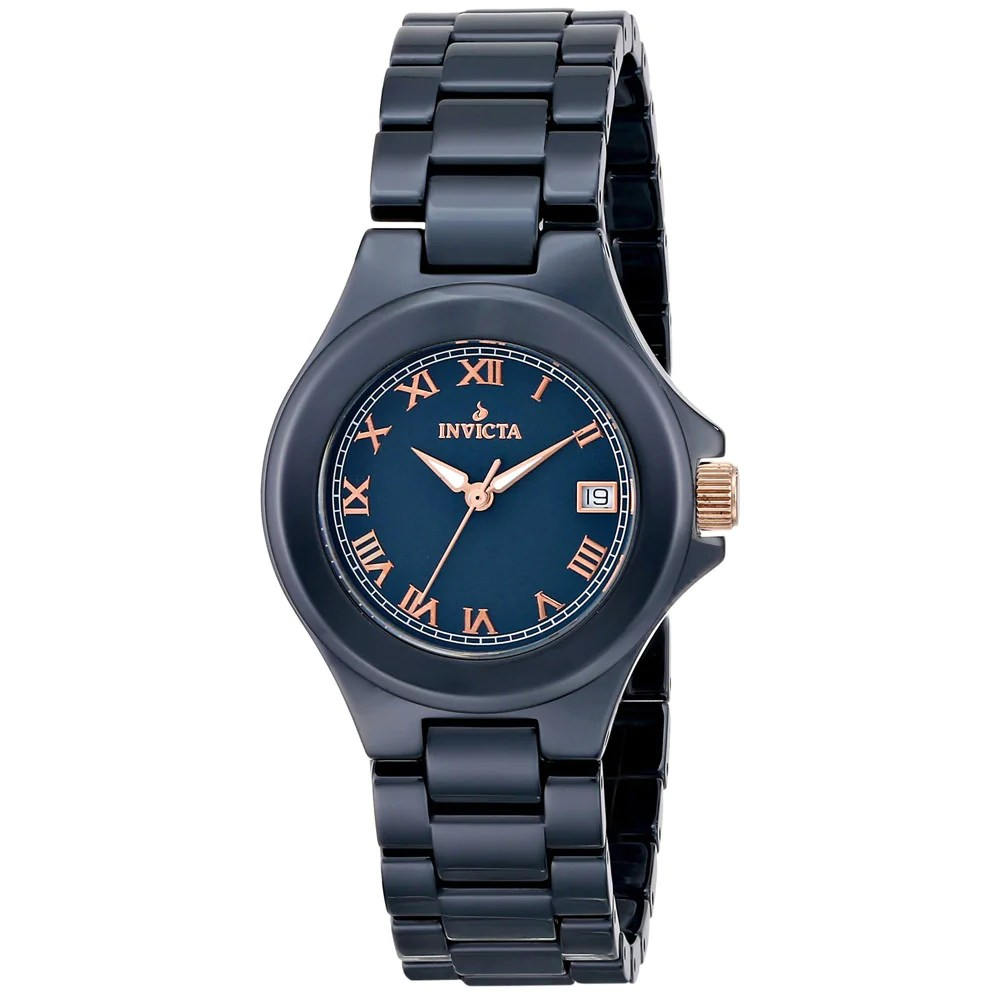 Invicta 14570 Women' Blue Dial Ceramic Bracelet