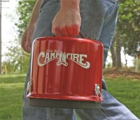 Camco Little Red Campfire, Portable Fire Pit ...