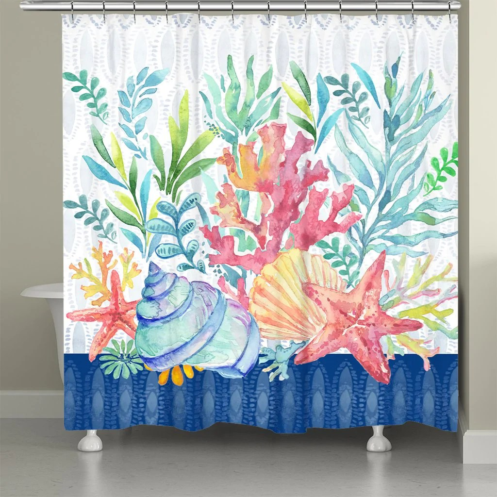 art tagged shower curtains laural