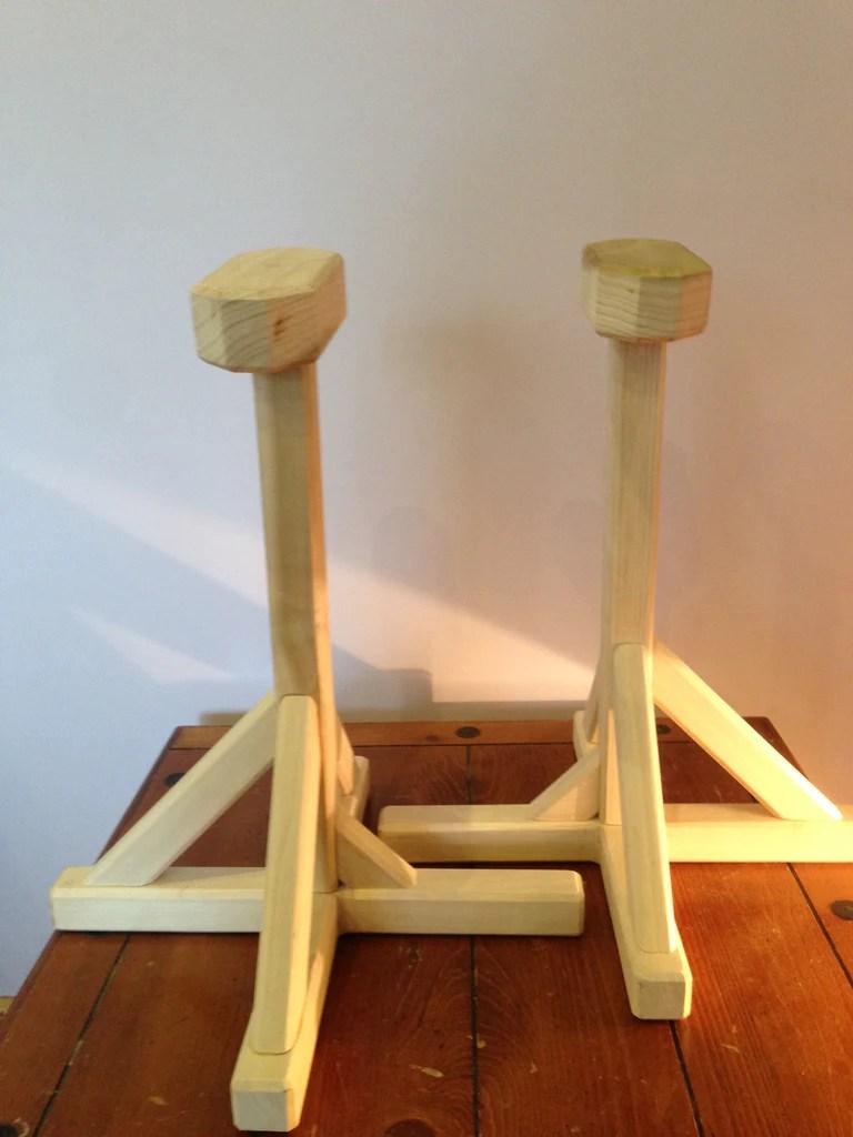 Pedestal Handstand Blocks Pair  Gymgymie