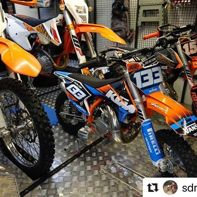 Bike Binderz Motocross Tie