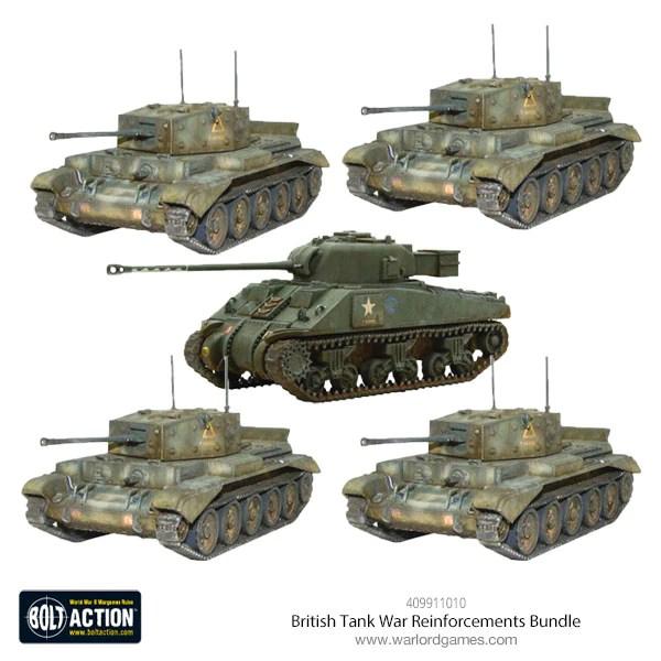 british tank war reinforcements