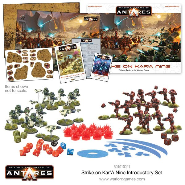 Image result for Beyond the Gates of Antares: Strike on Kar'A Nine  Beyond the Gates of Antares Dice Game Board Game