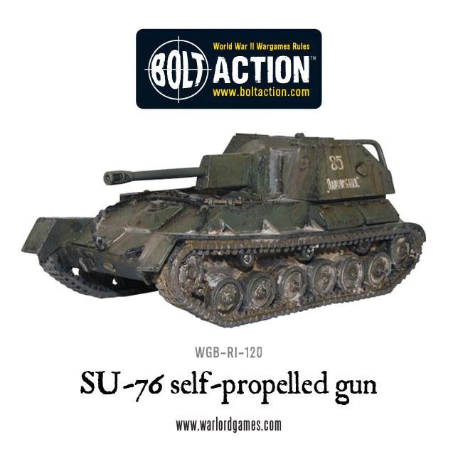 Warlord Games Soviet SU-76 1