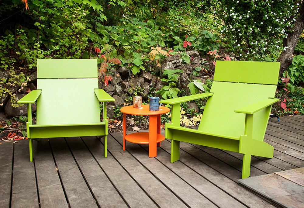 modern adirondack chair christmas themed covers all creative living lollygagger patio