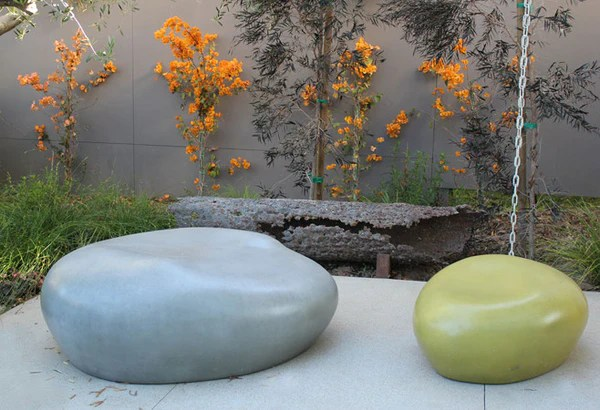 Cast Stone Seating Pebble Creative Living - Outdoor Living
