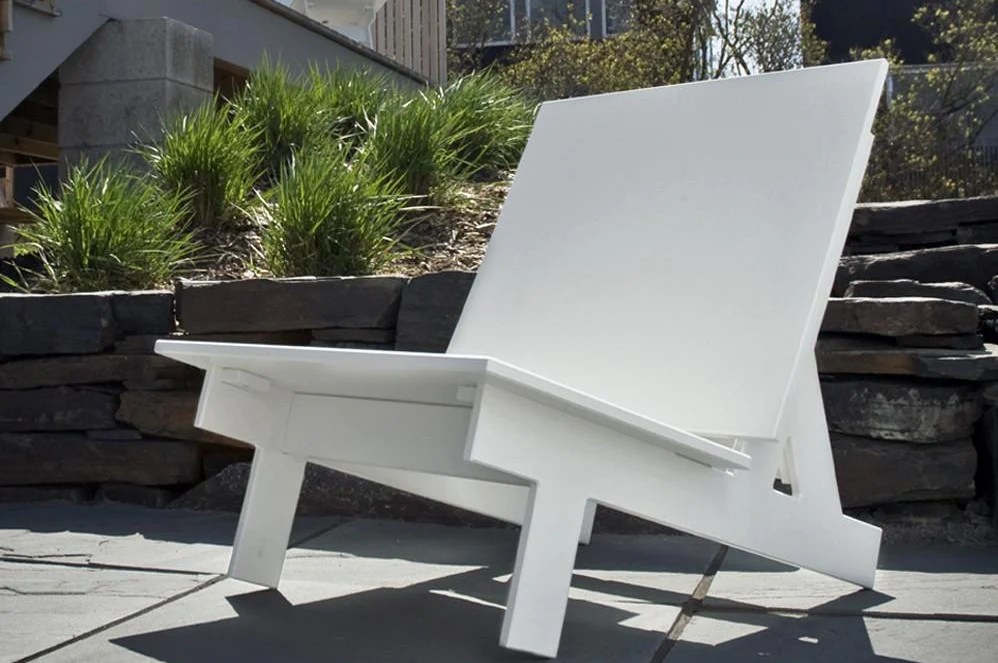Taavi Modern Outdoor Chair by Loll Designs  Denver