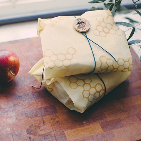 Bee's Wrap Handmade, All Natural, Sustainable Food Storage Alternative