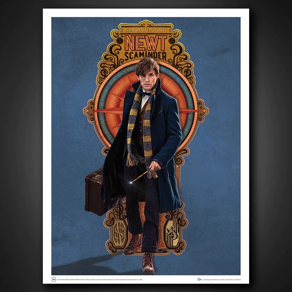 Stargate Iphone Wallpaper Fantastic Beasts And Where To Find Them Art Print Set 3