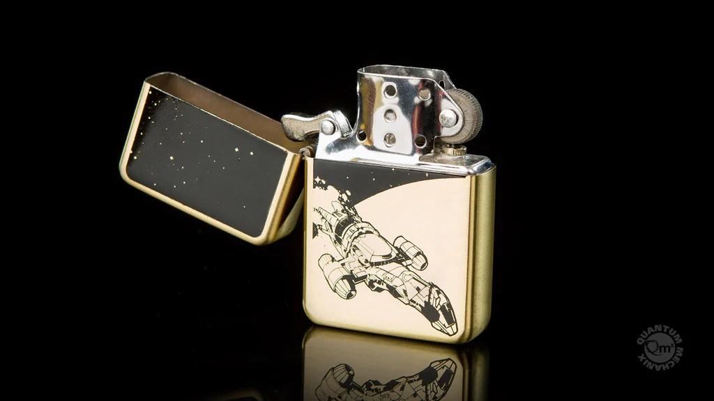 firefly brass lighter quantum