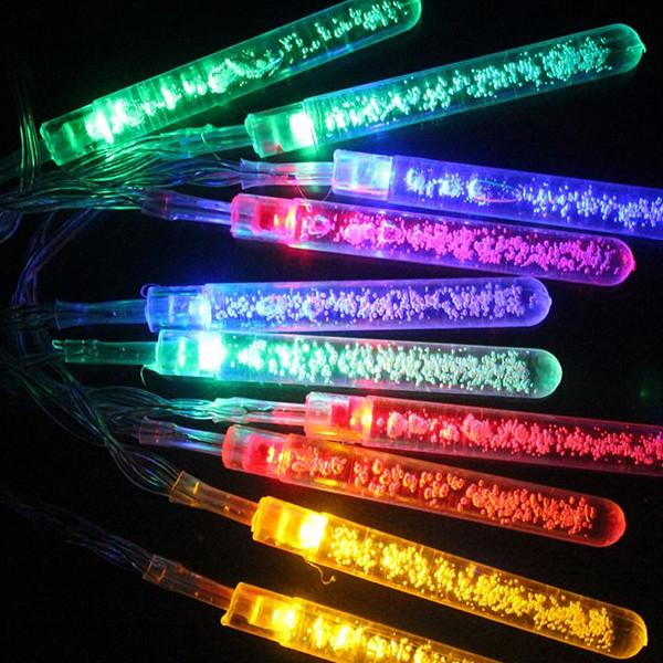 multi colored solar bubble