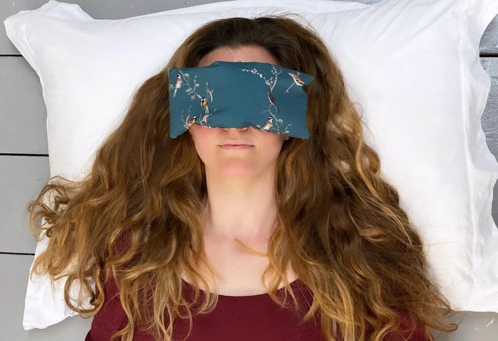 diy lavender eye pillows by hand london