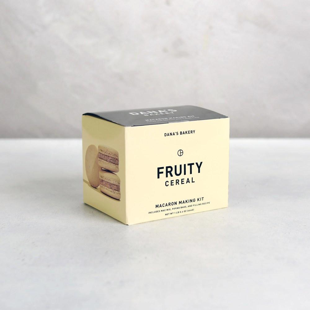 Dana's Bakery Fruity Cereal Macaron Making Kit