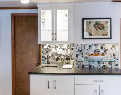 mosaic kitchen tile tables with chairs stainless steel backsplash store metal glass stone wall tiles we